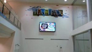 ハリファックス空港到着!